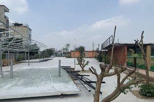 Sân tập golf tại phường Phú Diễn cơ bản được tháo dỡ