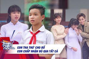 Khả Ngân - Gil Lê xúc động tặng học phí vì ngưỡng mộ nghị lực của cô bé mồ côi mẹ