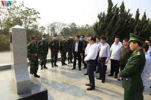 Thứ trưởng Ngoại giao yêu cầu Điện Biên tăng cường bảo vệ biên giới