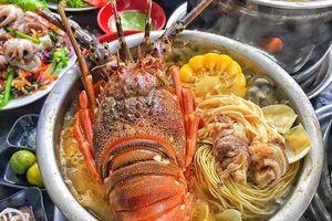 Địa điểm ăn lẩu tôm hùm F.A và các loại hải sản tại Hà Nội