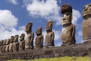 Bí mật phần thân dưới của 900 tượng đá trên Đảo Phục sinh