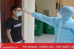 120 người dân Nghi Xuân trở về từ vùng dịch Covid-19 sức khỏe bình thường