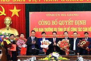 Hàng loạt cán bộ chủ chốt được điều động, bổ nhiệm tại Hà Giang