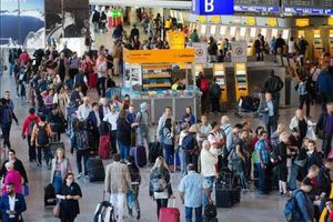 Sân bay Frankfurt bị gián đoạn hoạt động do thiết bị bay không người lái
