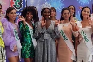 Hoa hậu chuyển giới kế nhiệm Hương Giang bị chê mặc thảm họa trên truyền hình Thái Lan