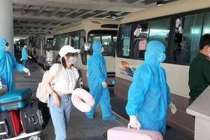 Cảng Hàng không Quốc tế Cần Thơ tiếp tục đón hơn 340 người từ Hàn Quốc trở về