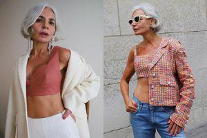 Nữ fashionista 56 tuổi ăn mặc đẹp, tạo dáng không thua kém người mẫu