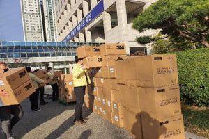 Thượng Hải quyên góp 500.000 khẩu trang cho Hàn Quốc chống Covid-19