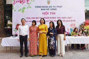 Công đoàn Bộ Tư pháp phát động chương trình hưởng ứng 'Tuần lễ áo dài Việt Nam'