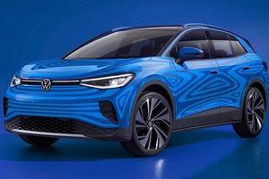 Lộ diện SUV chạy điện Volkswagen ID.4 vốn được mong đợi từ lâu