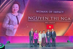 Chủ tịch BRG được vinh danh nữ doanh nhân có tầm ảnh hưởng lớn khu vực
