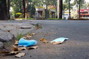 Khẩu trang y tế đã qua sử dụng sẽ là 'rác' không thể tái chế