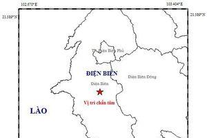 Động đất ở Điện Biên