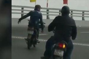 Bất ngờ danh tính chủ BKS xe máy nam thanh niên buông hai tay phóng trên đường Hải Phòng