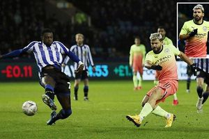 Aguero hóa người hùng đưa Man City vào tứ kết FA Cup