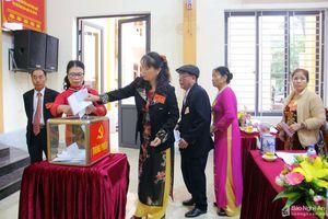 Đại hội điểm Đảng bộ phường Nghi Hòa - Thị xã Cửa Lò