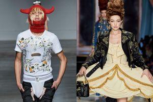 Váy lồng bàn và loạt thiết kế độc lạ nhất tại 4 kinh đô thời trang