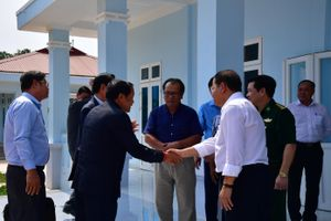 Hội đàm chuẩn bị nâng cấp cặp cửa khẩu Tân Nam - Mean Chay thành cửa khẩu quốc tế