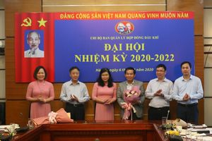 Chi bộ Ban Quản lý Hợp đồng Dầu khí đã tổ chức thành công Đại hội Chi bộ nhiệm kỳ 2020 - 2022