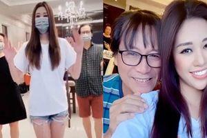 Bố mẹ hoa hậu Khánh Vân hào hứng nhảy điệu 'Ghen Cô Vy'