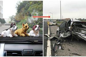 5 vật gây họa chớ dại gì mà đặt trên ô tô, không cẩn thận tai nạn chết người, tổn hại cả gia đình