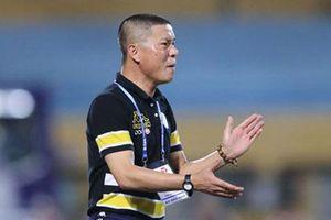 HLV Chu Đình Nghiêm thận trọng trước DNH Nam Định