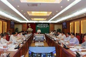 Đề nghị Bộ Chính trị xem xét kỷ luật ông Lê Thanh Hải, ông Lê Hoàng Quân