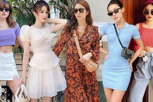 Street style 'ngắm là mê' của Tăng Thanh Hà, Hoàng Thùy Linh và dàn sao Việt
