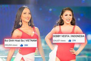 Đóng cổng bình chọn: Hoài Sa 'vượt mặt' người đẹp Indonesia giành cơ hội vào thẳng Top 12