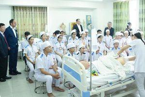 Hợp tác với Đức đào tạo nghề điều dưỡng