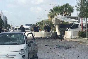 Đánh bom liều chết gần Đại sứ quán Mỹ ở Tunisia