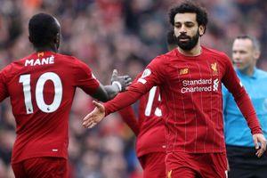 Salah và Mane ghi bàn, Liverpool lội ngược dòng thắng Bournemouth
