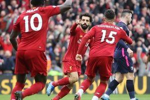 Liverpool giải cơn hạn bàn thắng, sao Ai Cập chạm mốc kỷ lục