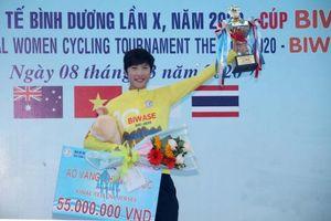 Kết thúc giải xe đạp nữ quốc tế Bình Dương: Phetdarin Somrat (Thái Lan) giành áo Vàng