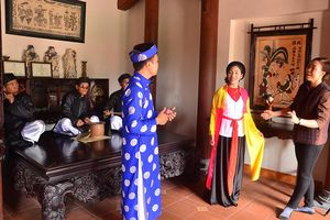 'Nông dân làm du lịch cũng là đang giữ gìn truyền thống văn hóa của quê hương'
