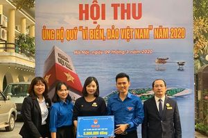 Thành đoàn Hà Nội phát động ủng hộ 'Vì biển, đảo Việt Nam'