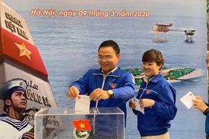 Thành Đoàn Hà Nội phát động hội thu ủng hộ 'Vì biển, đảo Việt Nam'