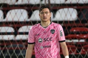 Đặng Văn Lâm 'mất tích' trong trận đấu tập của Muangthong United