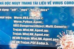 Cảnh giác với mã độc được phát tán qua email về dịch Covid-19