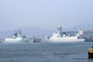 Soi dàn tên lửa trên 2 chiến hạm 'khủng' vừa được Trung Quốc đưa vào trực chiến