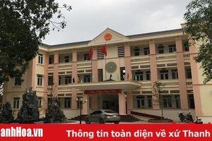Huyện Triệu Sơn: Thi hành kỷ luật một số cán bộ xã Khuyến Nông có sai phạm trong xây dựng nông thôn mới