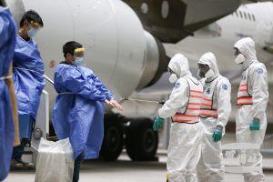 Đài Loan phái đội quân chống vũ khí hóa học tẩy trùng dân về từ Vũ Hán