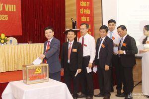 Đảng bộ Công ty CP Bến xe Nghệ An đại hội nhiệm kỳ 2020 - 2025