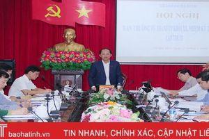 Thành ủy Hà Tĩnh lấy ý kiến lần 3 về dự thảo báo cáo chính trị trình đại hội Đảng
