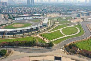 Hà Nội cấm nhiều tuyến đường phục vụ giải đua xe công thức 1