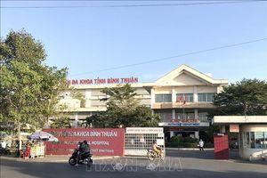 Bình Thuận phun hóa chất khu vực nhà bệnh nhân mắc COVID-19