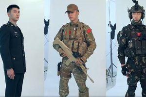 'Quân trang thân yêu': Tạo hình của Hoàng Cảnh Du trong phim Hậu duệ mặt trời bản Trung