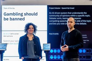 IBM công bố hệ thống AI duy nhất có khả năng tranh luận với con người