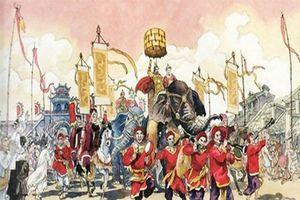 Chuyện ít biết về lễ lên ngôi báu của hoàng đế ngày xưa