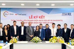 SkyX Solar của VinaCapital bắt tay SAIGONTEL phát triển hơn 50MW điện mặt trời áp mái